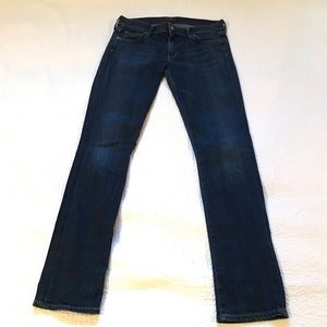 Citizens of Humanity Blue Straight Jeans